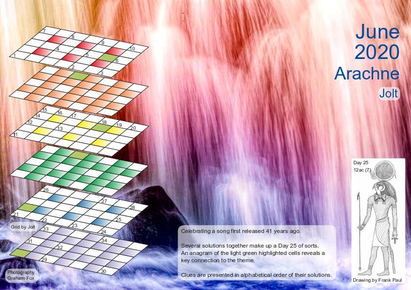 June 2020 puzzle page