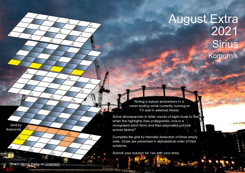 Aug Extra 2021 puzzle page