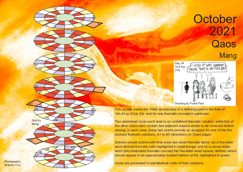 Oct 2021 puzzle page