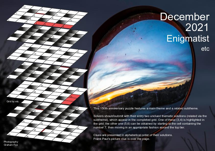 Dec 2021 puzzle page